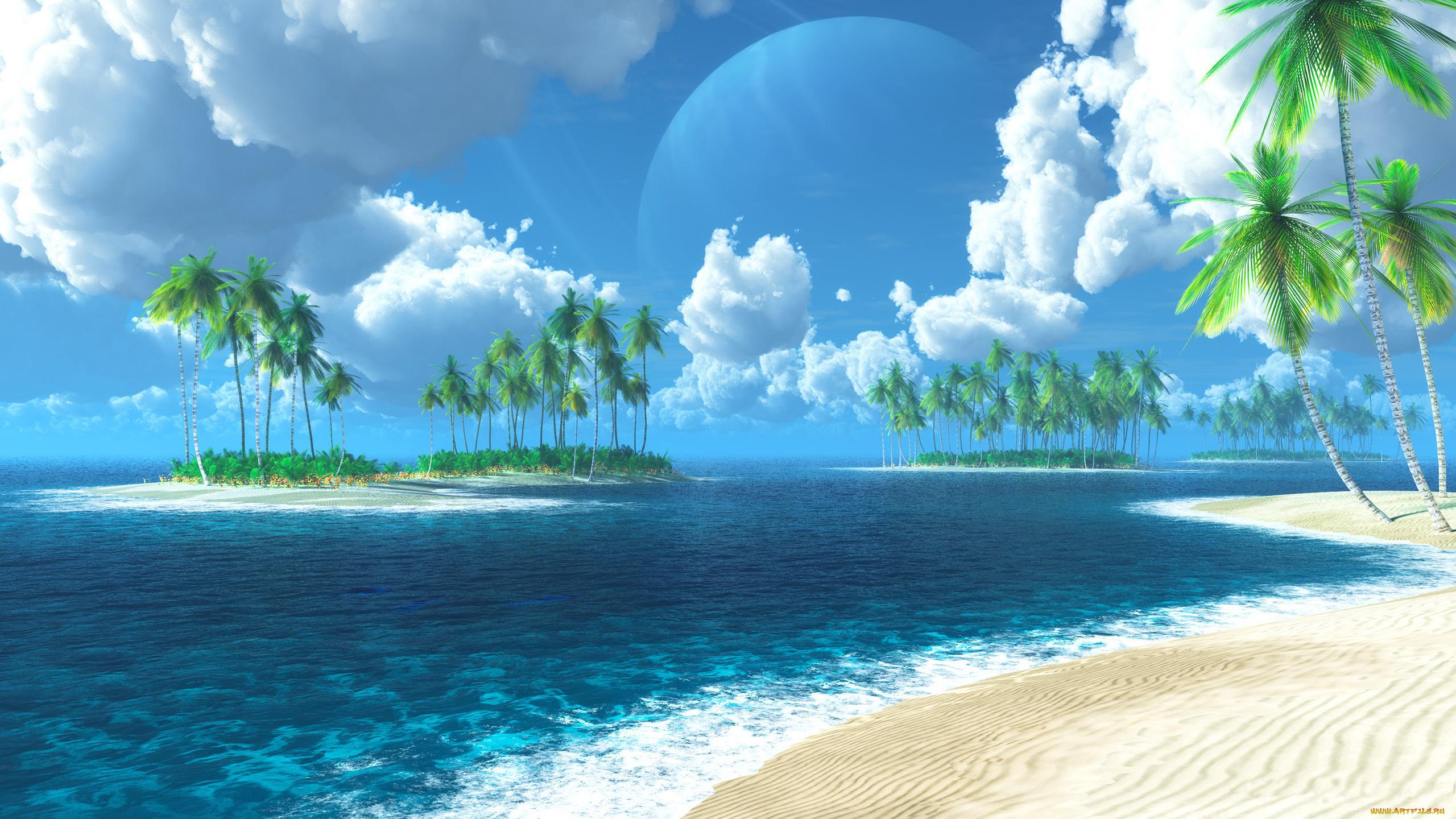 Живые Обои Море На Экран